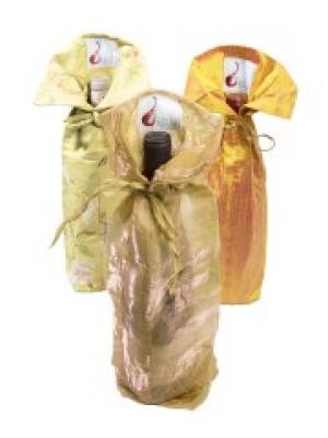 Debra Master of Wine: Wine Gift Bags (golds)
